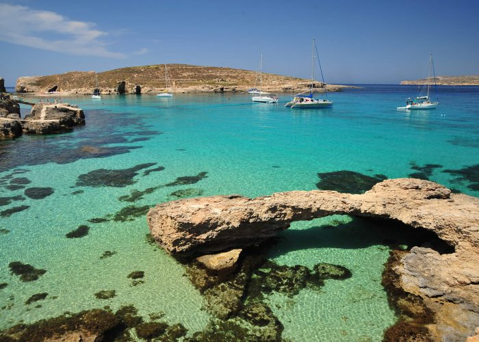 Blue Lagoon In Comino Amazing Boat Charters